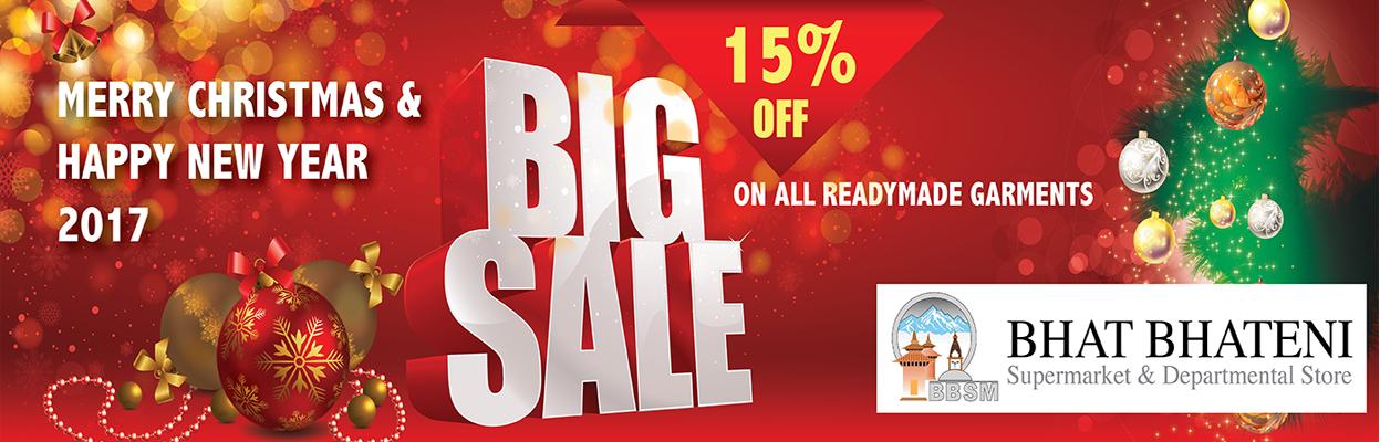 Bhat-Bhateni Supermarket and Departmental Store Big Sale